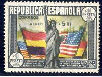 Sello de España 1938 nº 765 Aniversario de la Constitución EE UU A1 Nuevo stamp