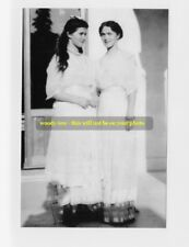 mm430 - Grand Duchesses  Maria & Olga Romanov of Russia 1914 - Royalty photo 6x4