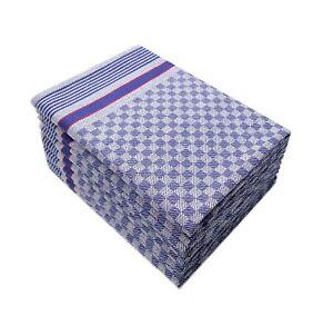 Geschirrtücher Premium 10er Set aus 100% Baumwolle, Grubentücher 50x100cm