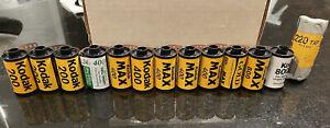 Expired Kodak 35mm Film Assorted, Max, Gold 200 400 800