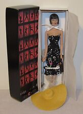 Tonner/Tyler Chicago Collection Velma Kelly Doll in Black Dress, Straw Hat