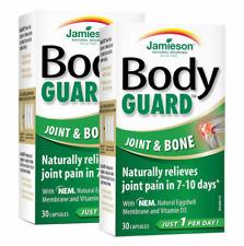 Jamieson BodyGUARD Joint Bone 30 Capsules Anti Inflammatory Relieves Pain 7 Days