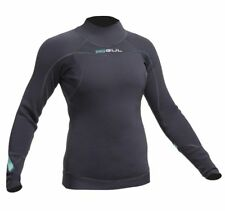 Gul Womens Code Zero 3mm Thermo Top Surf Sailing Wetsuit Base Layer Black 12