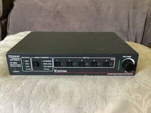 Extron SSP 7.1 Professional Surround Sound Processor 60-842-01