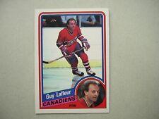 1984/85 O-PEE-CHEE NHL HOCKEY CARD #264 GUY LAFLEUR EX/NM NM SHARP!! 84/85 OPC