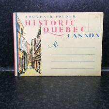 478. Historic Quebec Canada - 16 Colour Postcard Set