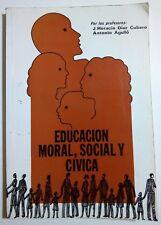 Educacion Moral Social y Civica de J Horacio Diaz Cubero sobre Puerto Rico  2000