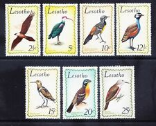 More details for lesotho 1971 sg204/10 set of 6 birds - unmounted mint. catalogue £26