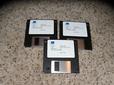"3Com CS/2500+2600 Version NO. 6.2.1 PC program 3.5"" floppy disks mint condition"