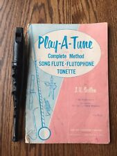 Vintage Toy Flute Play A Tune