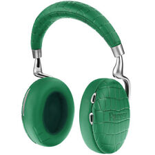 PARROT ZIK 3 BLUETOOTH HEADPHONES EMERALD GREEN CROCODILE NOISE-CANCELLING NEW