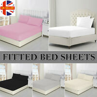 BED MATTRESS DEEP FITTED SHEET WITH ELASTIC BED SHEETS SINGLE DOUBLE KING