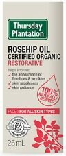 Thursday Plantation  CERTIFIED ORGANIC  Rosehip Oil ( 25ml ) FREE SHIPPING