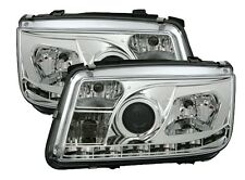 FAROS LUCES ANTES DEVIL EYES CROMO CRISTAL VW BORA & BORA BREAK 1998-2005