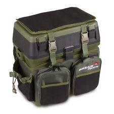 Prachtfisch Deluxe Sitzkiepe Angelzubehör-Box inkl. Rucksack-Tasche Tackle Box