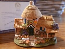 """Lilliput Lane Cottage """"Little Scrumpy"""" In Box, Retired, with Deed club special"""
