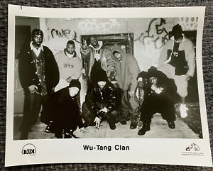 "Wu-Tang Clan - Loud Records OG 10 x 8"" promo photo SUPER RARE!"