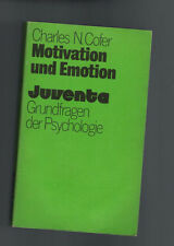 Charles N. Cofer - Motivation und Emotion, Juventa - 1979