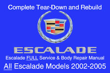 escalade repair manual