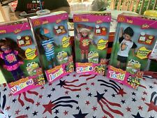 Happy Meal Stacie-Todd- Janet- Whitney- Dolls Complete Set of 4 1993 NRFB