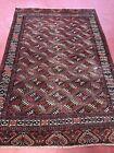 Handmade Rug Vantage  Antiques Carpet Old Turkman Yamud 1920