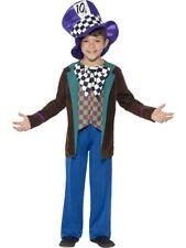 Boys Deluxe Mad Hatter Costume Fancy Dress Medium 7-9 Book Day Alice Wonderland