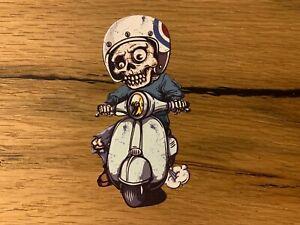 Vespa Skull Aufkleber Zombie Roller Oldtimer Retro Vintage Racing 1:50 GTS #714