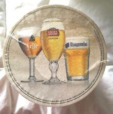Stella Artois - Leffe - Hoegaarden - 125 BEST OF BELGIUM Beer Coasters