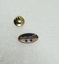 Gold Filled McLanahan Sapphire 10 Years Service Lapel PinBrooch