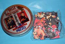 DARK SHADOWS JONATHAN FRID BARNABAS DOUBLE PLASTIC JIGSAW PUZZLE METAL BOX