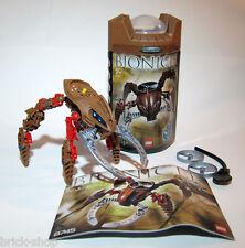 Lego Bionicle Visorak Roporak (8745) (2005) Complete w Box & Instructions Legos