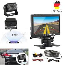 """7"""" Monitor Rückfahrsystem LKW Wohnmobil +1080P HD Rückfahrkamera Nachtsicht"""