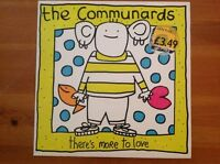 """THE COMMUNARDS / 1988 Vinyl 45rpm 12"""" Single / THERE'S MORE TO LOVE"""