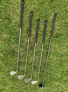 5 Golfschläger 4 Ping 100 schwarz G5 Nr. 6 7 9 und S und 1Mega Force oversiz 260