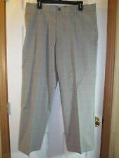 NWT DOCKERS SIGNATURE KHAKI STRAIGHT FIT CASUAL/ DRESS PANTS W 30 L30 Grid Plaid
