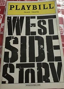 West Side Story Broadway Playbill 2010 Jeremy Jordan Karen Olivo