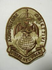 Patch Folgore 185 RRAO Paracadutista Acquisitore Obiet. Mimetica Vegetata Desert