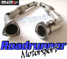 Milltek Audi RS4 B7 4.2 V8 De-cat Downpipes Stainless Exhaust 2006-2008 SSXAU285
