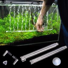 Aquarium Fish Tank Air Bubble Tube Wall Curtain Diffuser Aerator Stone 7 Inch UK