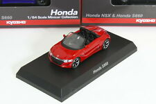 Kyosho 1/64 HONDA S660 Red JW5  ACURA NSX&S660 Minicar Collection 2017
