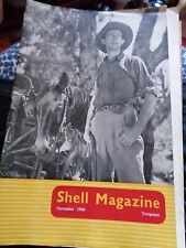 JUST POST WW2 SHELL MAGAZINE NOVEMBER 1946 ILLUSTRATED AMERICA'S AUTOMOTIVE IND