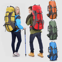 65L Large Backpack Rucksack Sport Bag Outdoor Camping Hiking Travelling Trekking