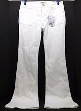 Jolt Optic White Long Cotton Blend Flare Leg Jeans. Size 7 SN T1900EWOW