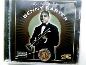 Benny Carter My Favorite Blues CD. Rare Australian Import. 18 Tracks (A)