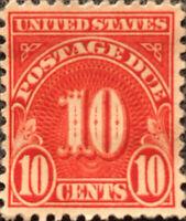 Scott #J84 US 1931 10 Cent Postage Due Stamp XF