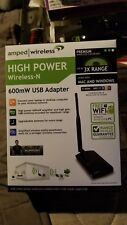 Amped High Power Wireless-N   600mW USB Adapter - NEW