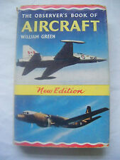 RARE Observer's book of AIRCRAFT 1966 Edition- *No date on spine*
