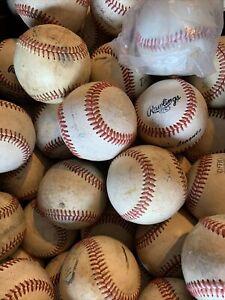 30 Used Baseballs