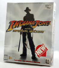 Big Box PC Sealed - LucasArts Indiana Jones Infernal Machine + GUIDE MINT 1999