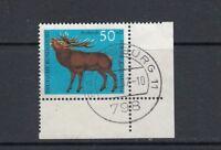 BRD Michel-Nr. 515 gestempelt - Bogenecke /Eckrand / Ecke 3
